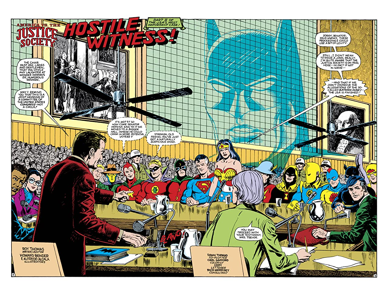 America Vs. The Justice Society (1985) No.3