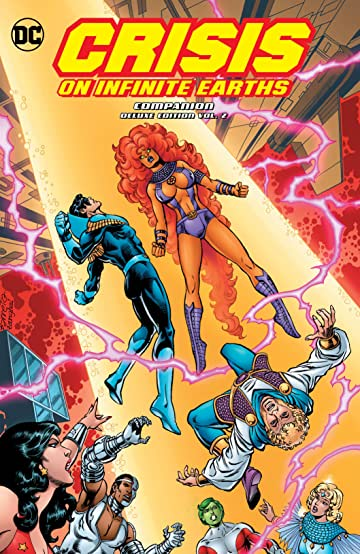 Crisis on Infinite Earths Companion Deluxe Tome 2