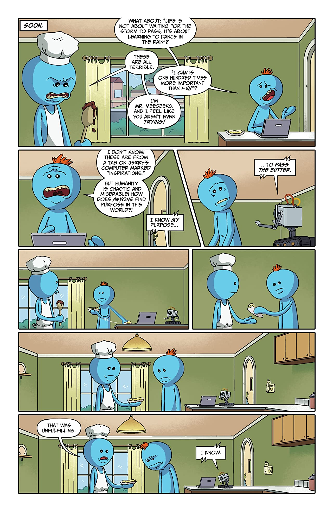 Rick and Morty Presents: Mr. Meeseeks No.1