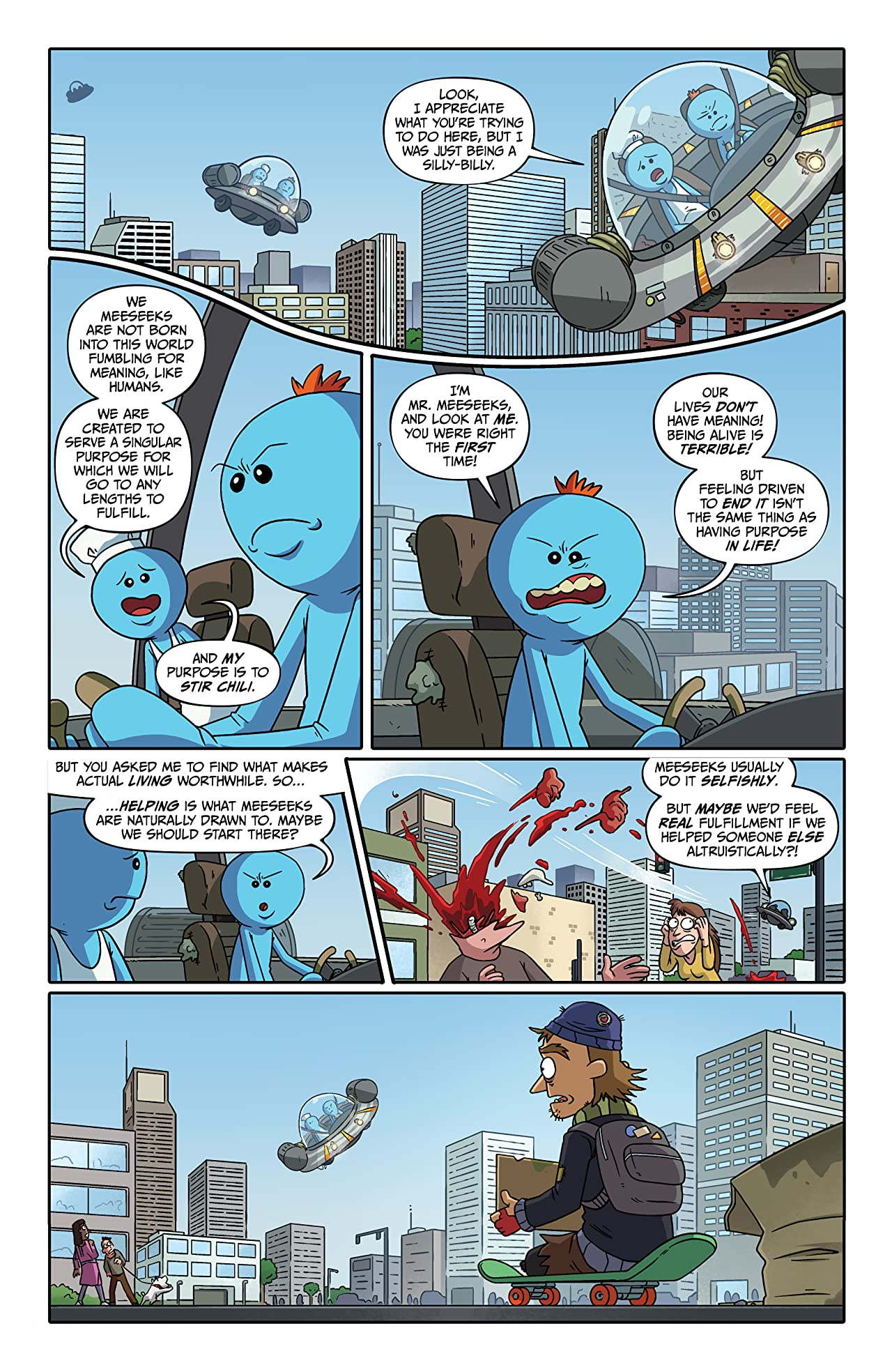 Rick and Morty Presents: Mr. Meeseeks #1