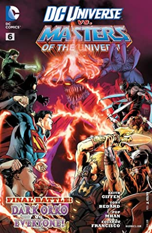 DC Universe vs. The Masters of the Universe (2013) #6