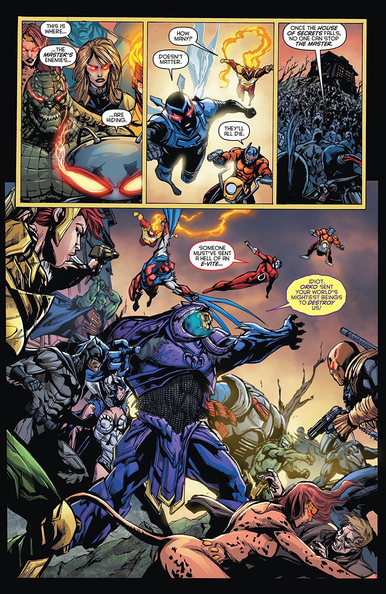 DC Universe vs. The Masters of the Universe (2013) #6 (of 6)