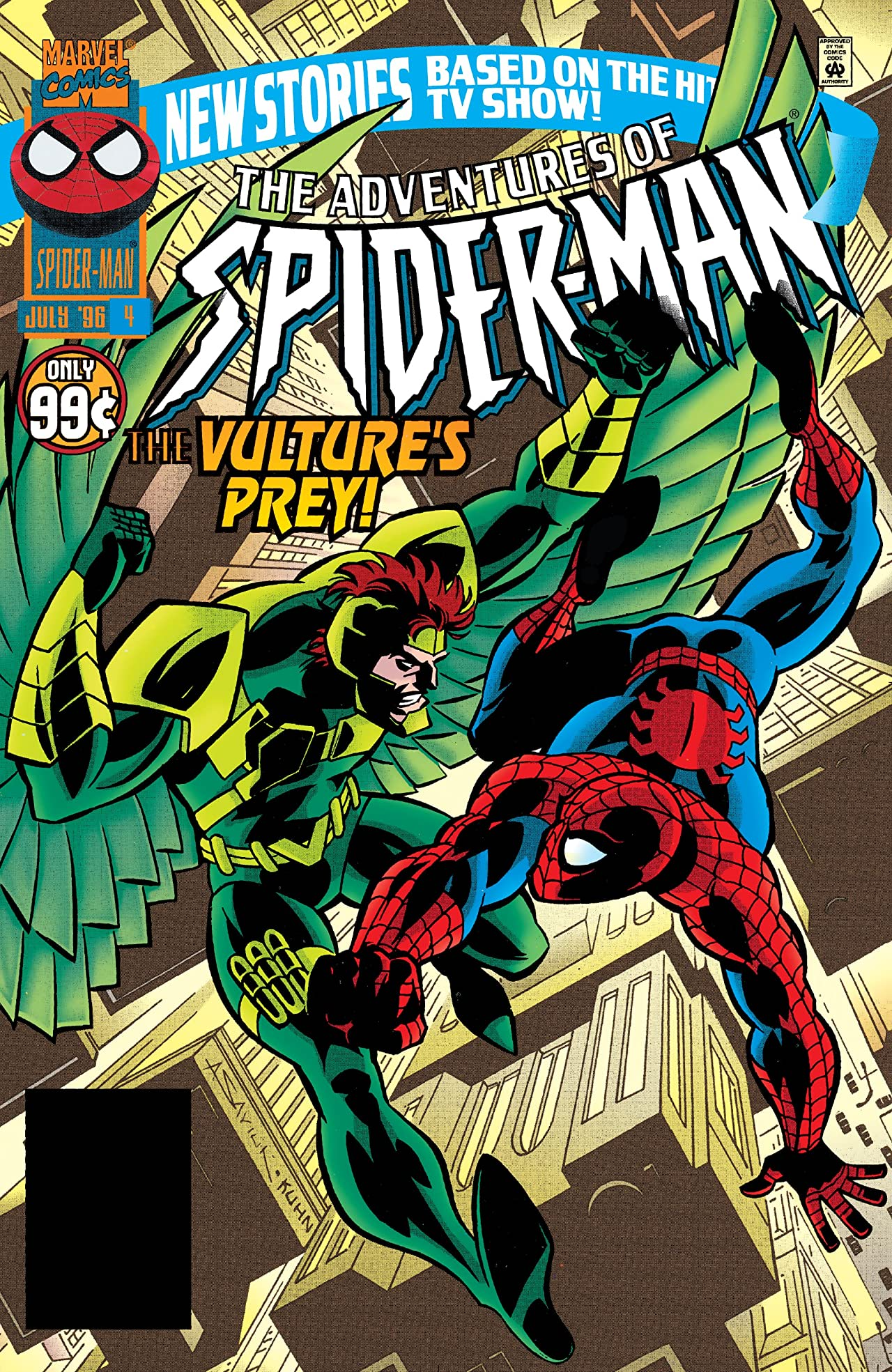 Adventures of Spider-Man (1996-1997) #4