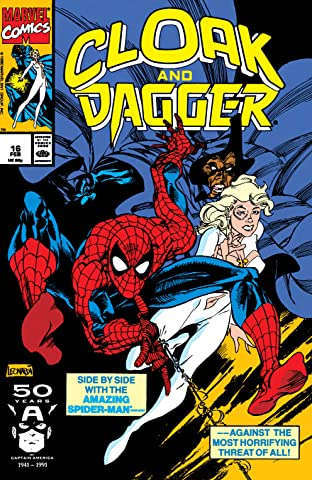 Cloak and Dagger (1988-1991) No.16