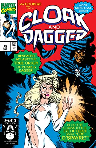 Cloak and Dagger (1988-1991) No.19