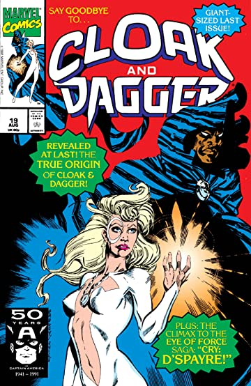 Cloak and Dagger (1988-1991) #19