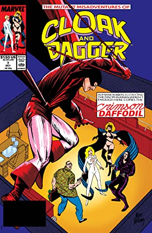 Mutant Misadventures Of Cloak and Dagger (1988-1991) No.7
