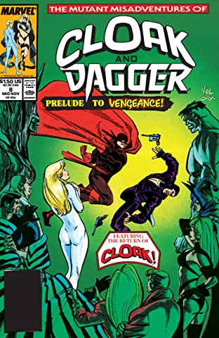 Mutant Misadventures Of Cloak and Dagger (1988-1991) No.8