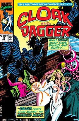 Mutant Misadventures Of Cloak and Dagger (1988-1991) #11