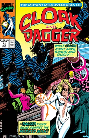 Mutant Misadventures Of Cloak and Dagger (1988-1991) No.11