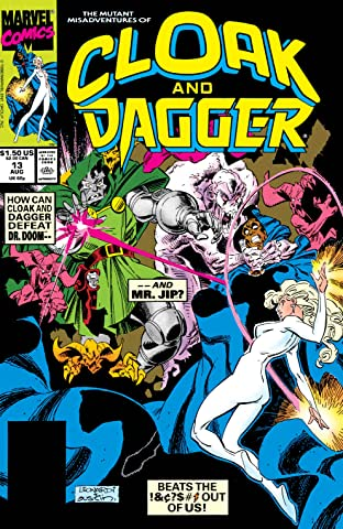 Mutant Misadventures Of Cloak and Dagger (1988-1991) No.13