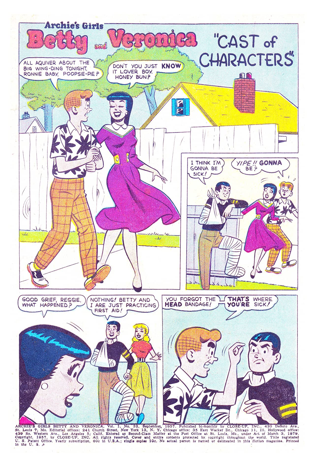 Archie's Girls Betty & Veronica #32