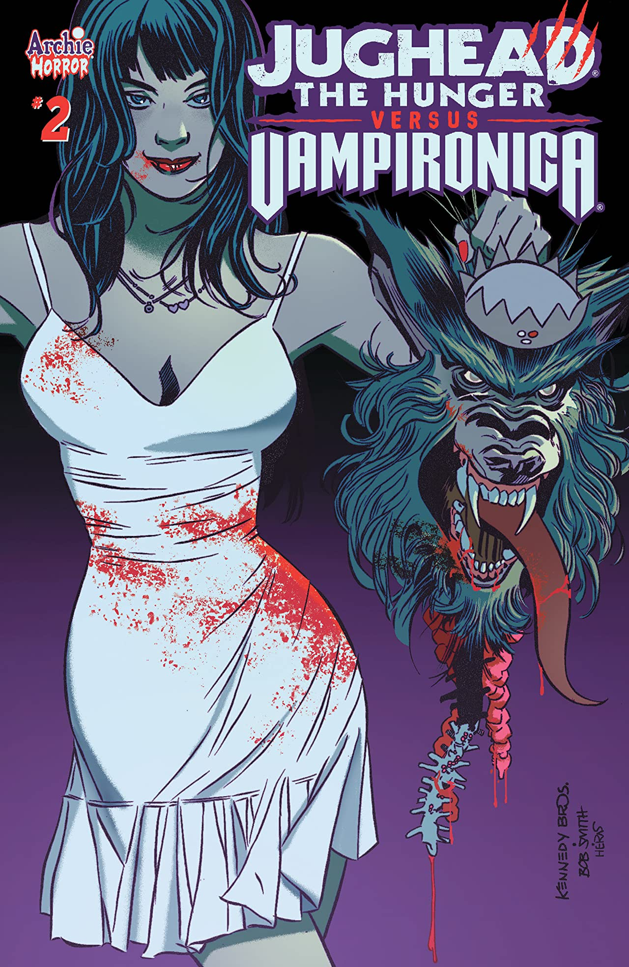 Jughead the Hunger vs Vampironica No.2