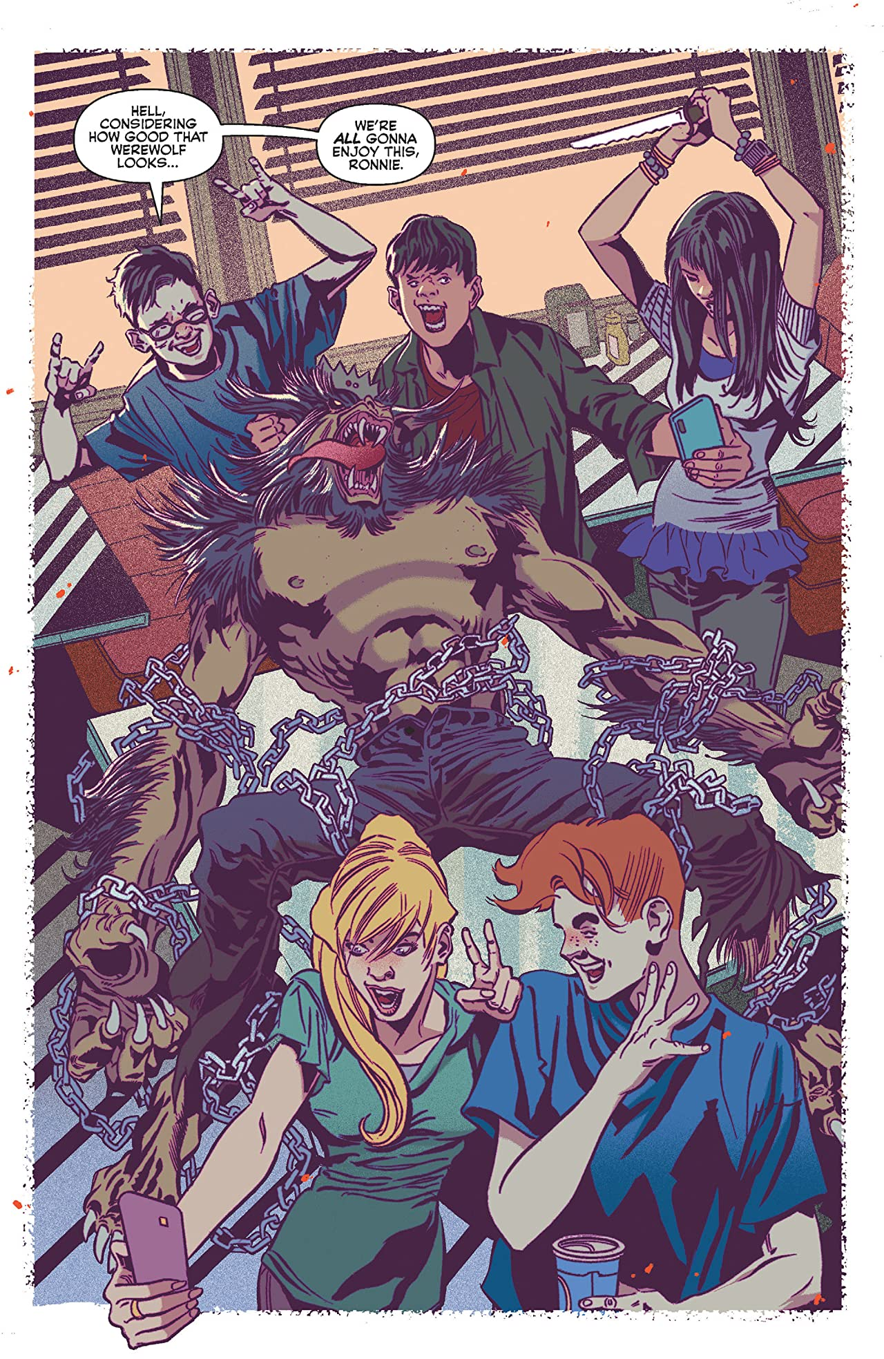 Jughead the Hunger vs Vampironica #2