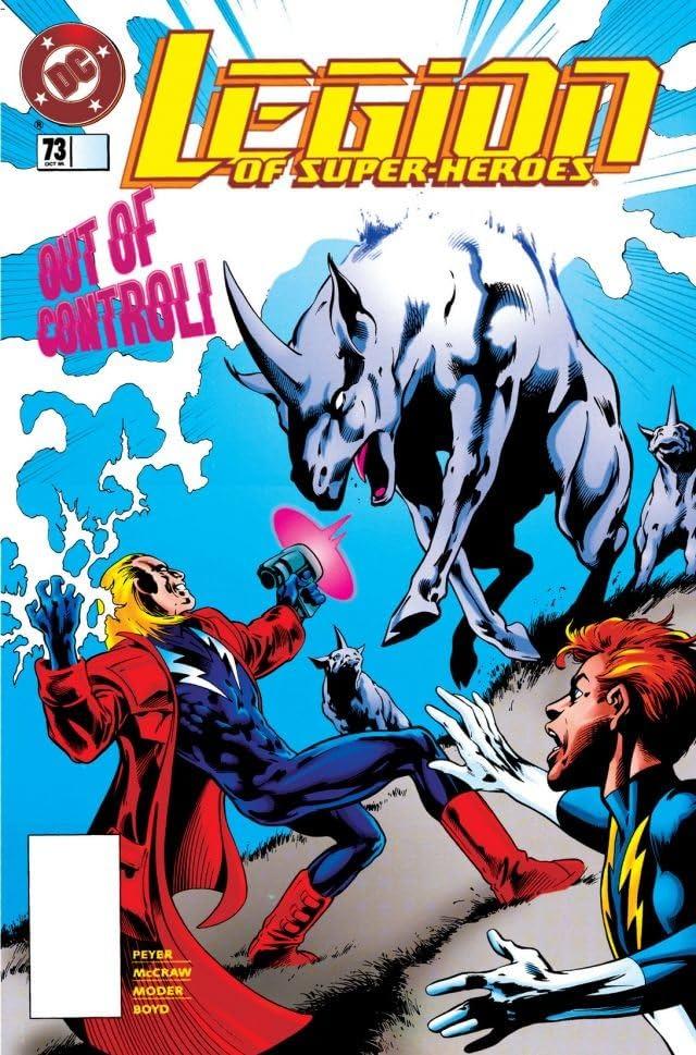 Legion of Super-Heroes (1989-2000) #73