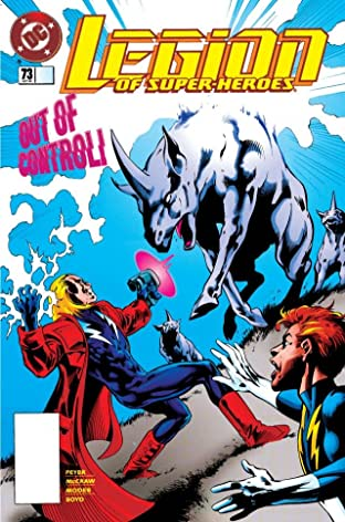 Legion of Super-Heroes (1989-2000) #73