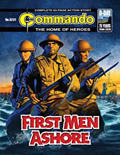 Commando #5231: First Men Ashore