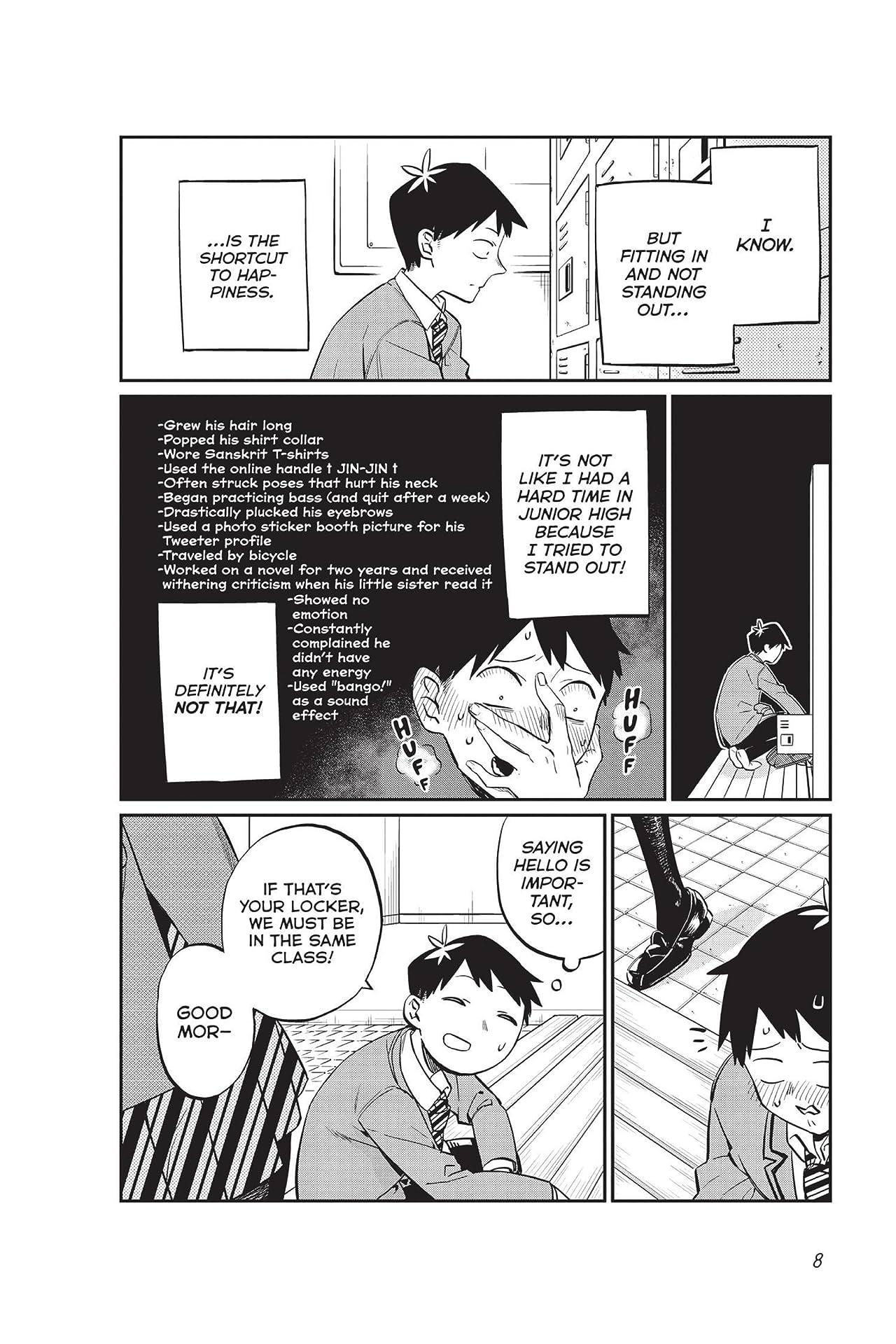 Komi Can't Communicate Vol. 1