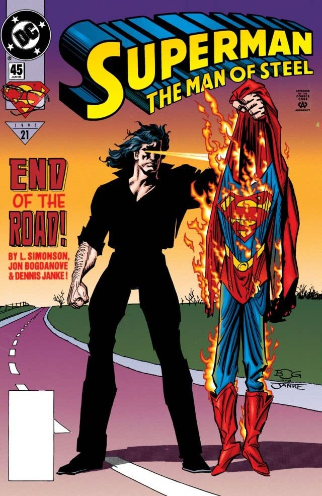 Superman: The Man of Steel (1991-2003) #45