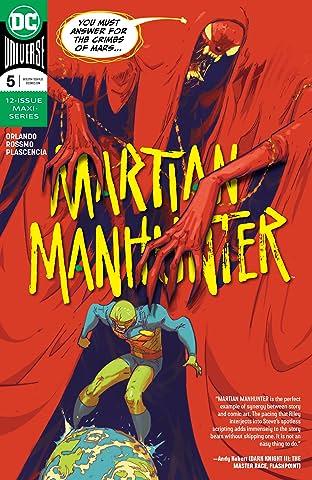 Martian Manhunter (2018-) No.5