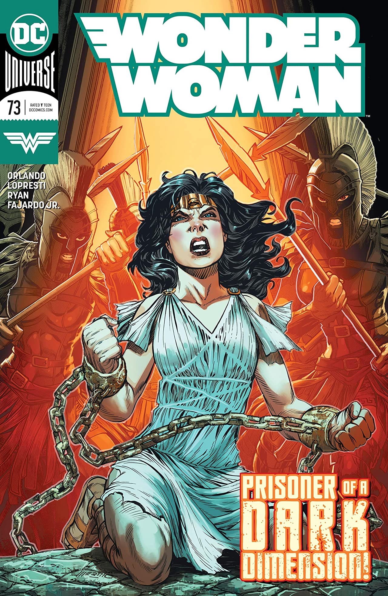Wonder Woman (2016-) No.73