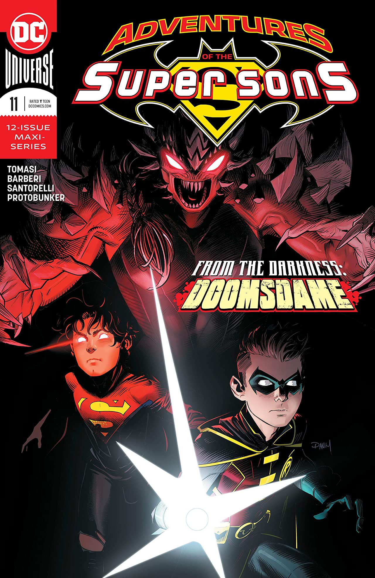 Adventures of the Super Sons (2018-) No.11