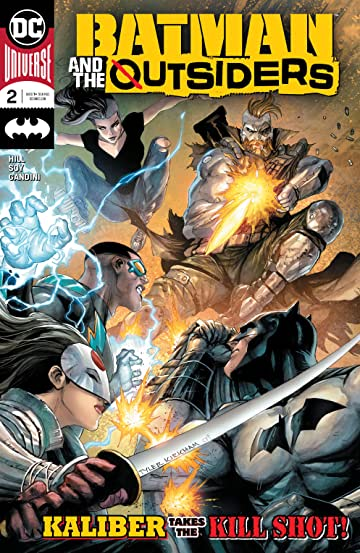 Batman and the Outsiders (2018-) No.2