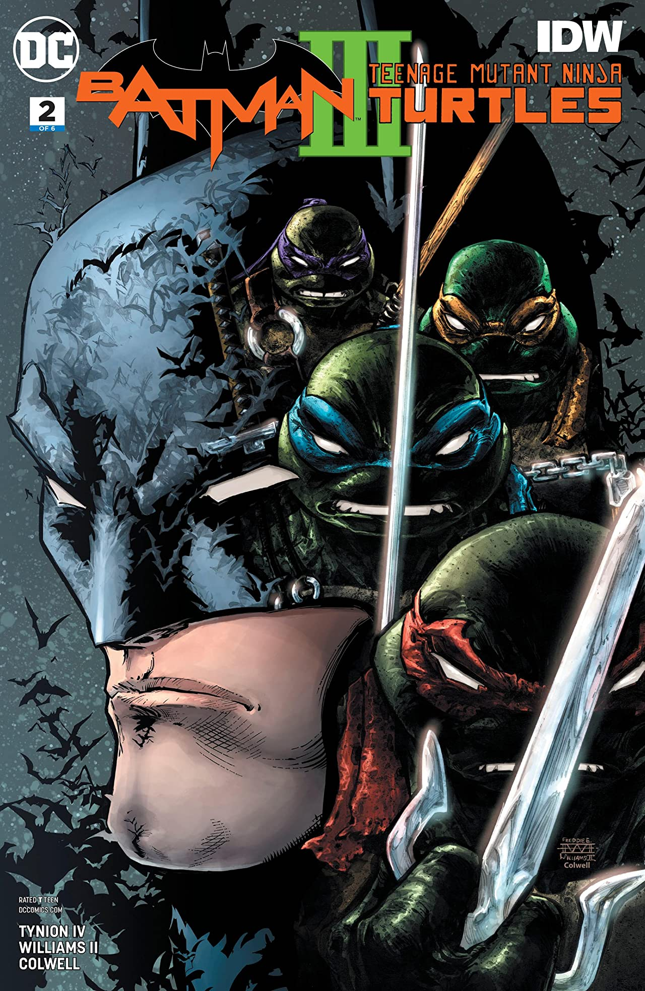Batman/Teenage Mutant Ninja Turtles III (2019-) No.2