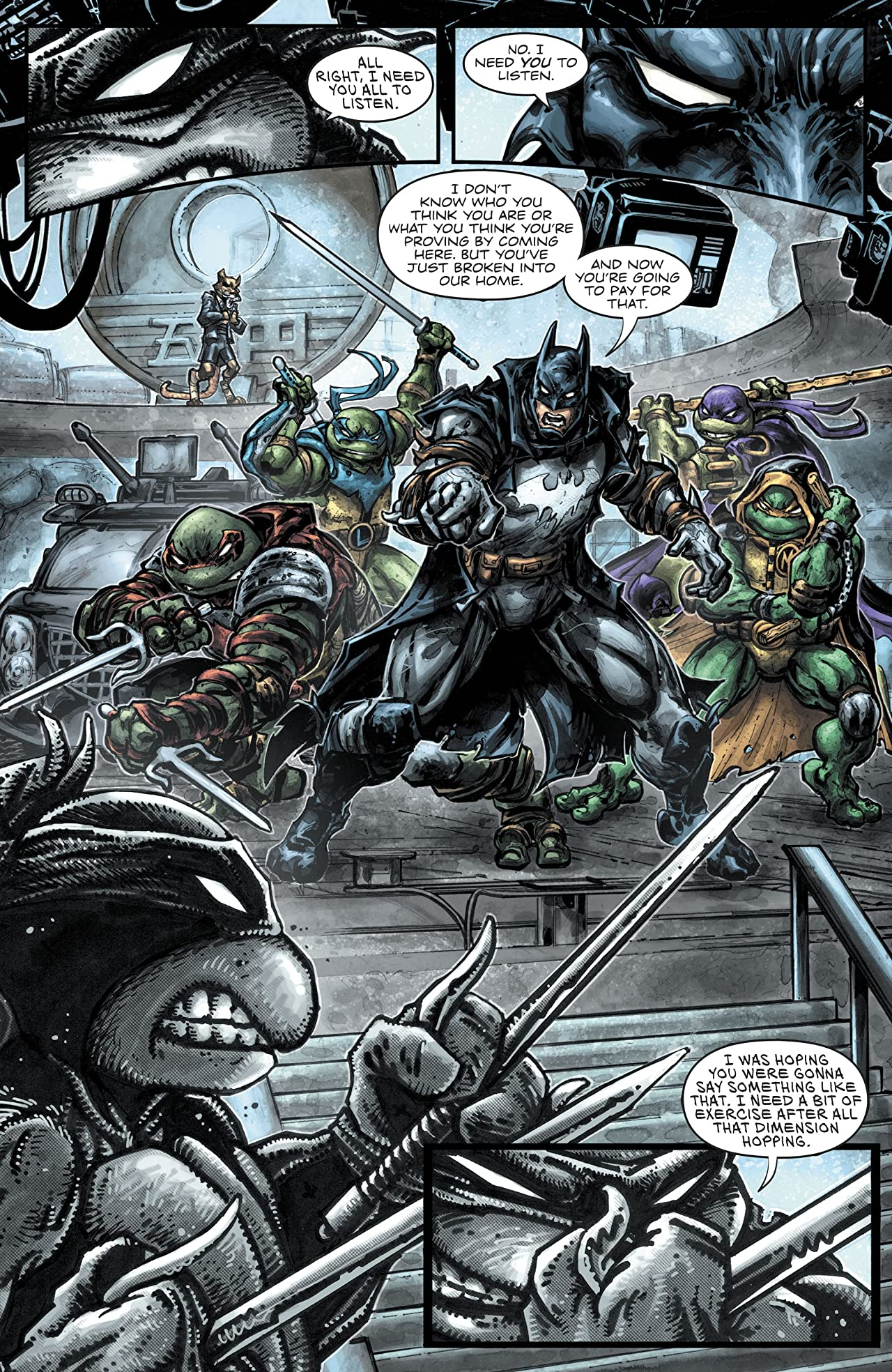 Batman/Teenage Mutant Ninja Turtles III (2019-) #2