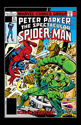 Peter Parker, The Spectacular Spider-Man (1976-1998) #21