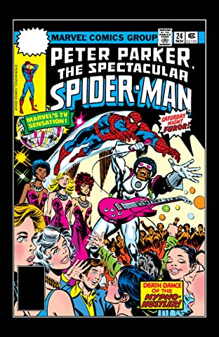 Peter Parker, The Spectacular Spider-Man (1976-1998) #24
