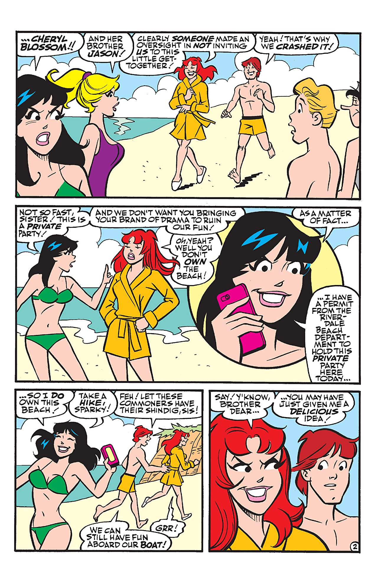 Archie & Friends Beach Party
