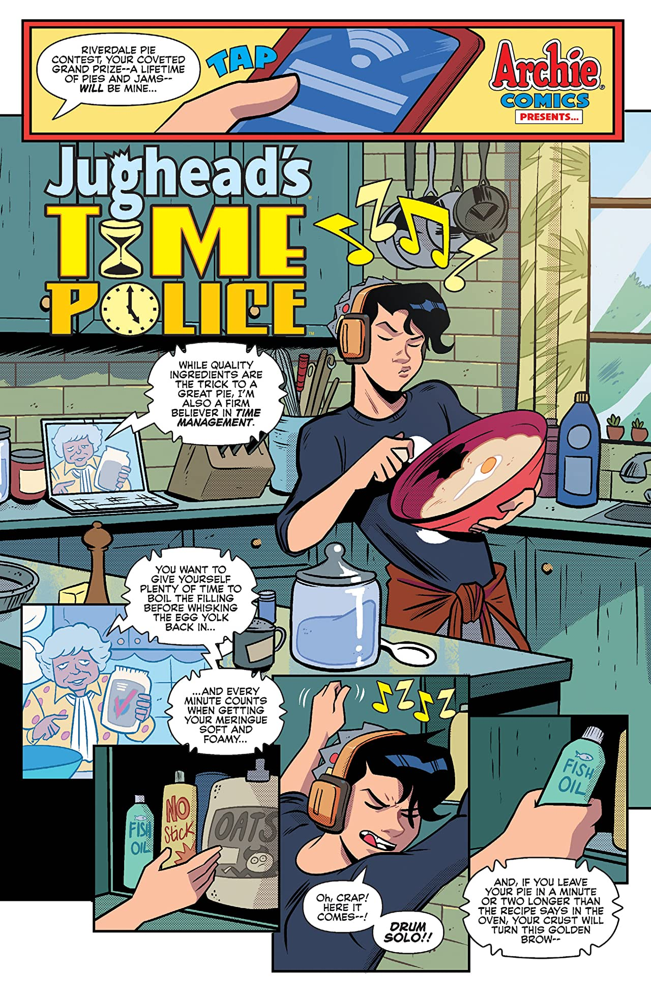 Jughead's Time Police #1