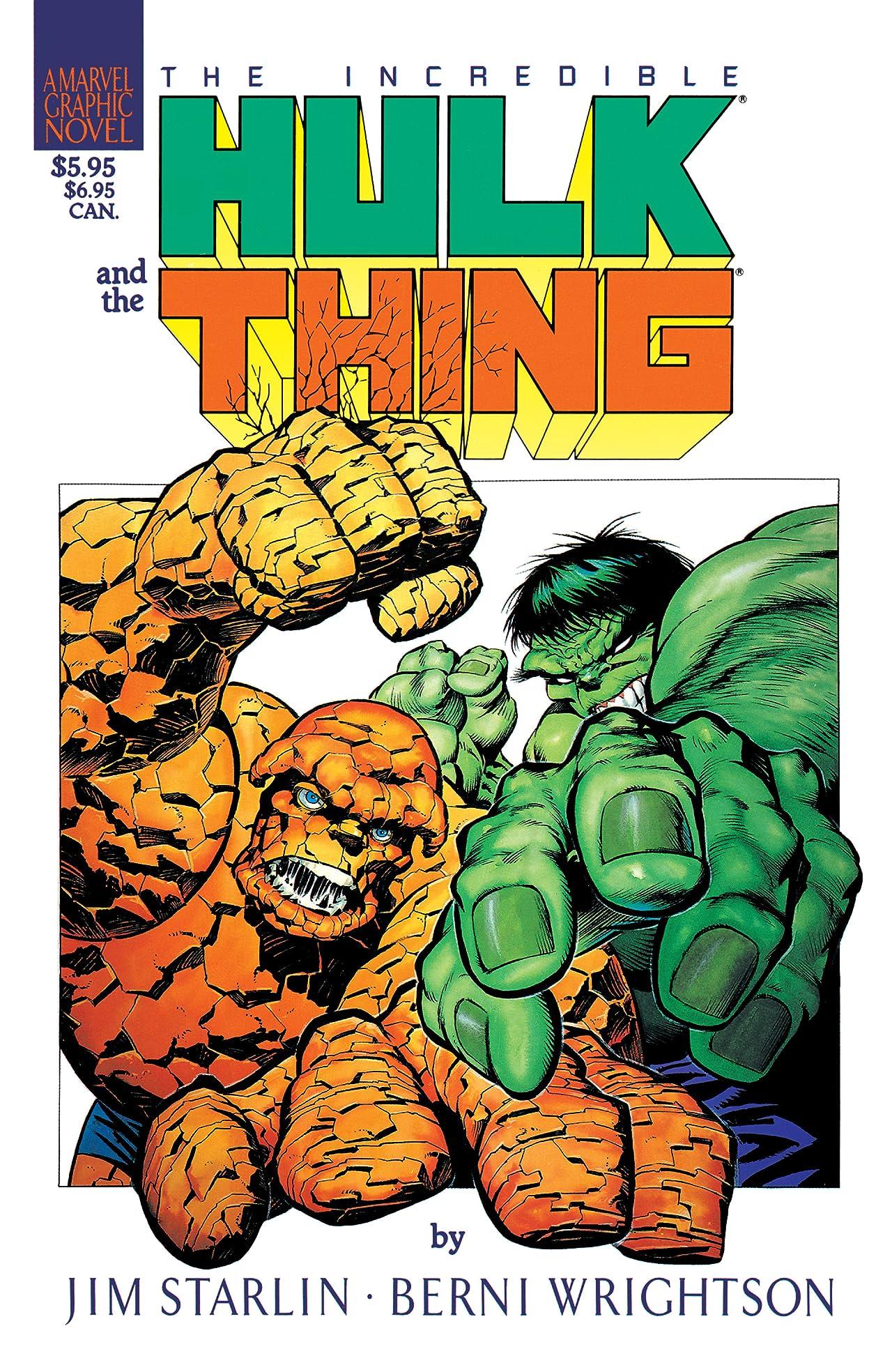Marvel Graphic Novel #29: Hulk/Thing - The Big Change