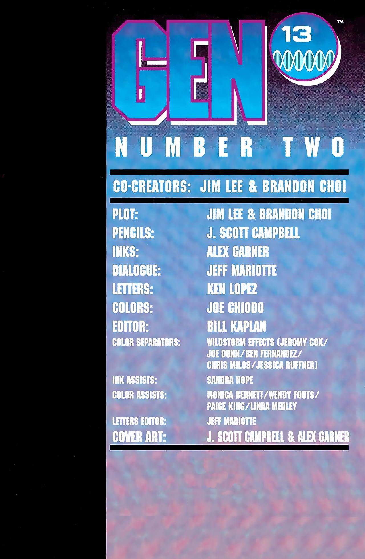 Gen13 (1994) #2