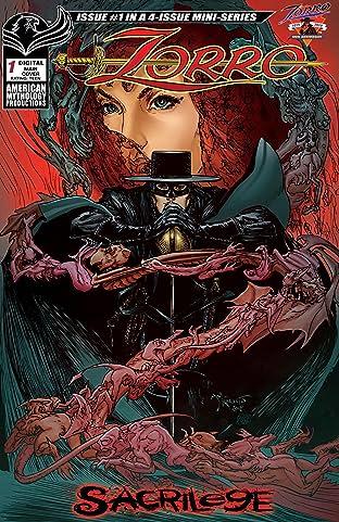 Zorro: Sacrilege #1