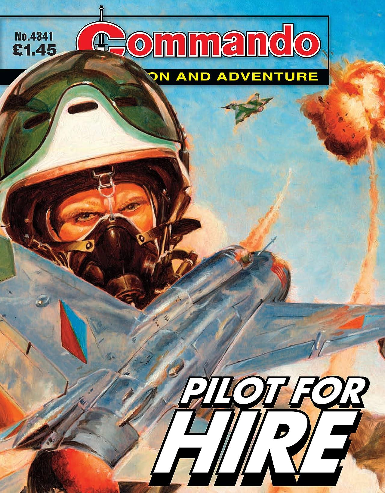 Commando #4341: Pilot For Hire