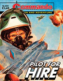 Commando #4341: Pilot For Hire