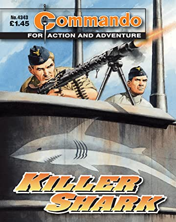 Commando #4343: Killer Shark