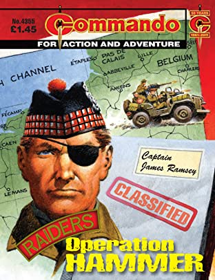 Commando #4355: Raiders: Operation Hammer