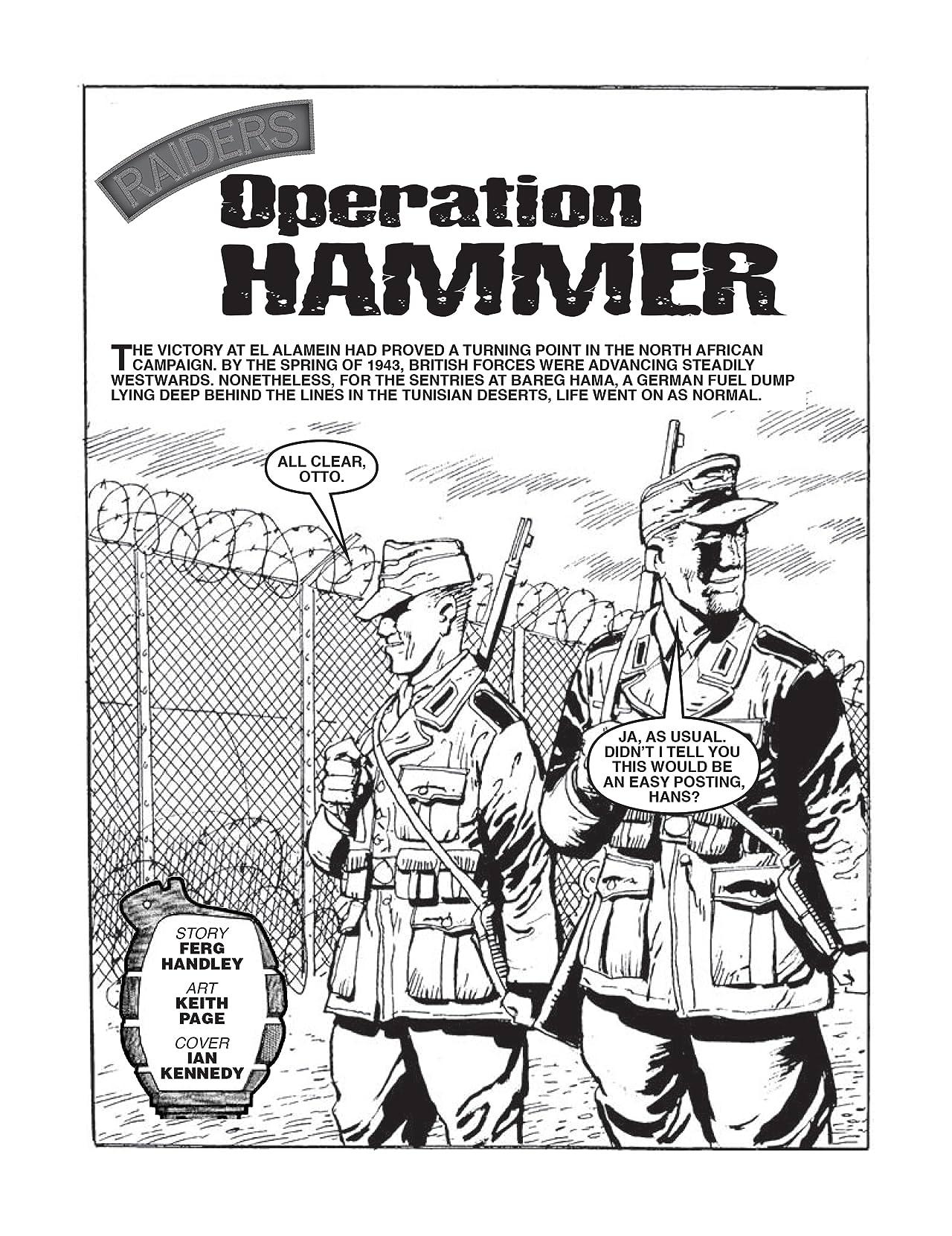 Commando #4355: Raiders: Operation Hammer
