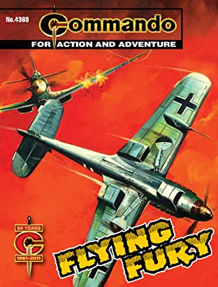 Commando #4360: Flying Fury