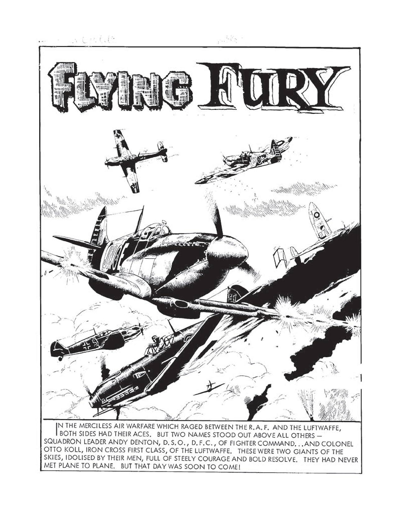 Commando #4360: Flying Fury