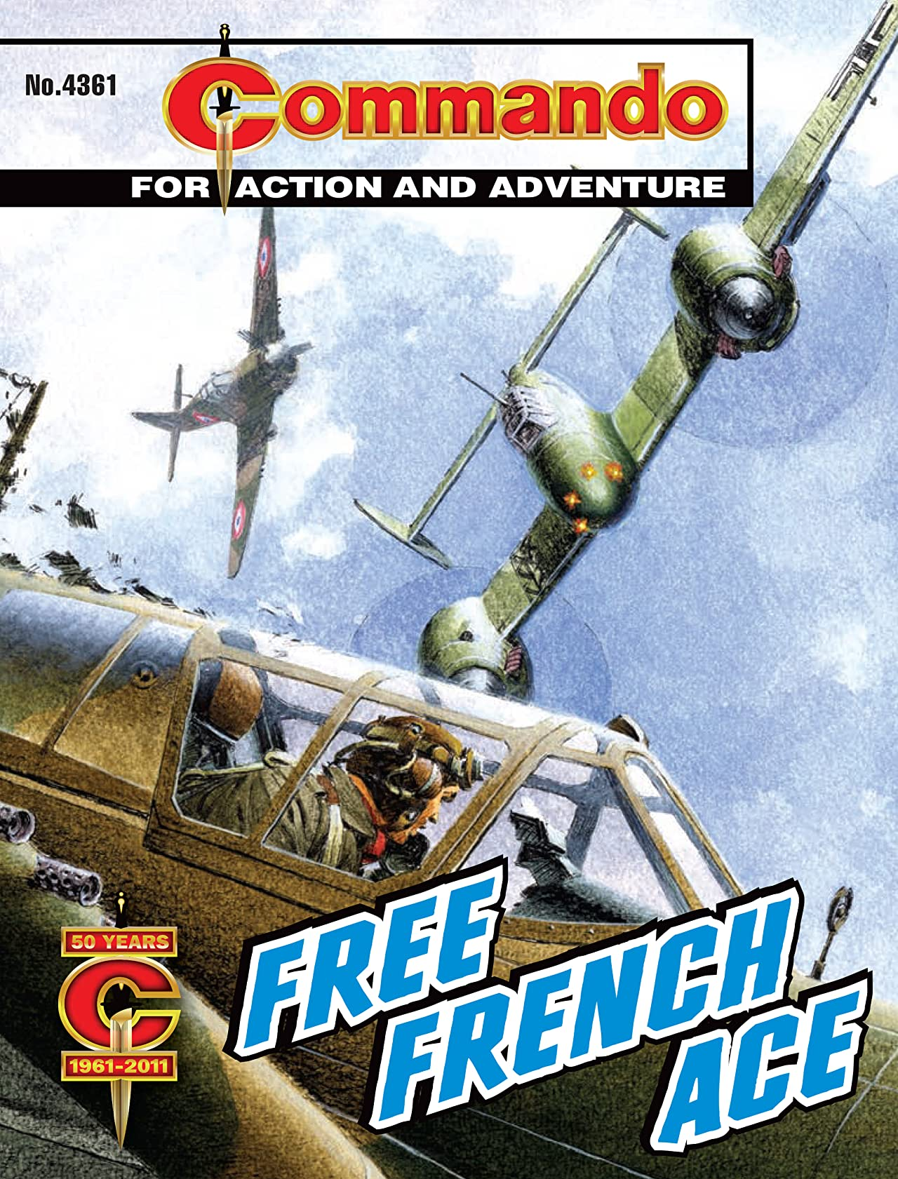 Commando #4361: Free French Ace