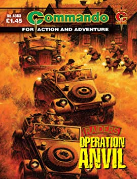 Commando #4363: Raiders: Operation Anvil