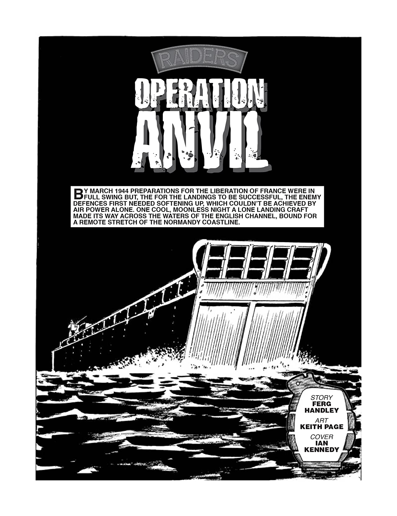 Commando No.4363: Raiders: Operation Anvil