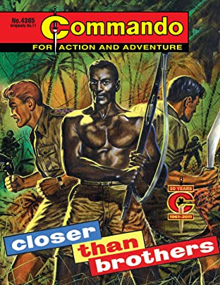 Commando #4365: Closer Than Brothers