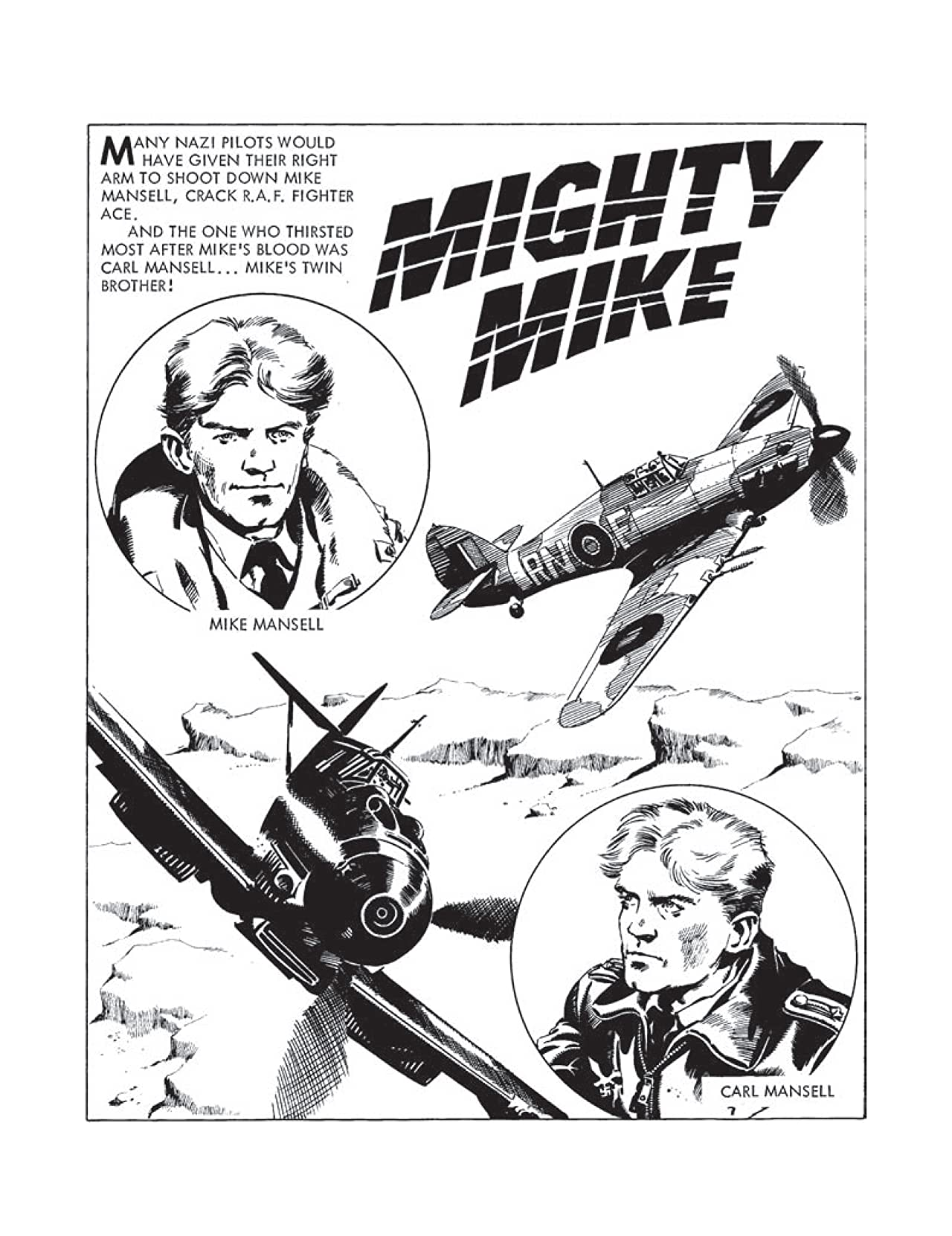 Commando No.4368: Mighty Mike
