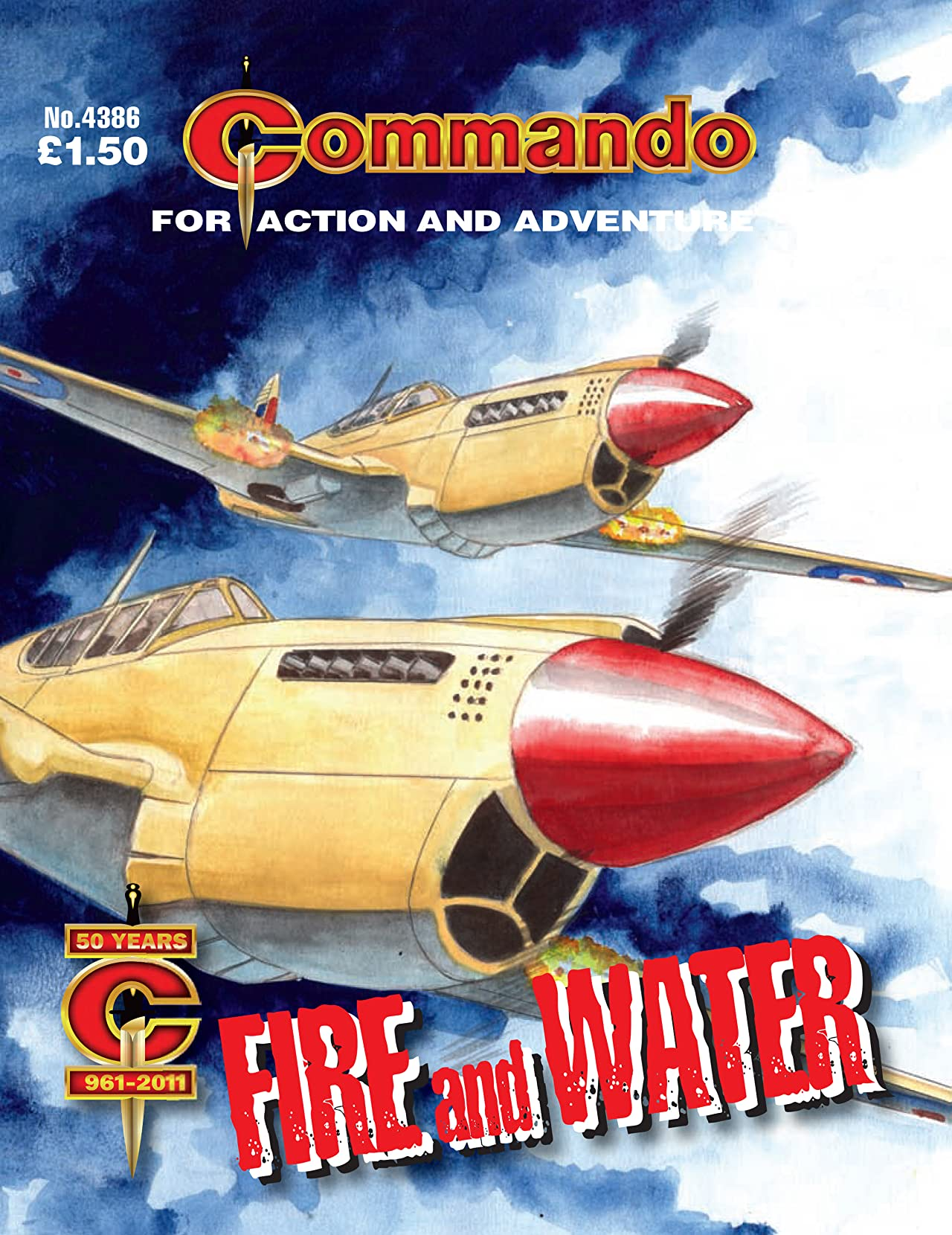Commando #4386: Fire And Water