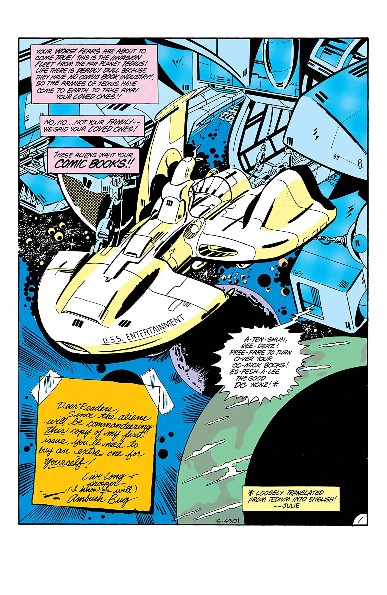 Ambush Bug (1985) No.1